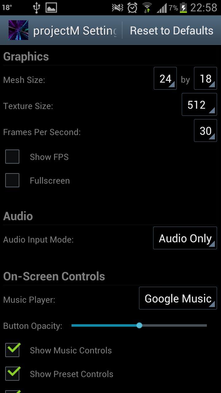 projectM Musik-Visualizer - Kennt noch jemand WinAMP? | AndroidPIT