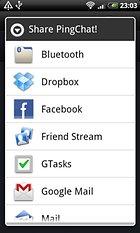 PingChat! kostenlos Nachrichten versenden