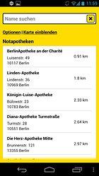 Gelbe Seiten Notfall-App