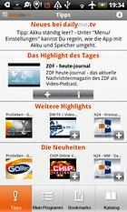 dailyme.tv - Dein Programm in Deiner Tasche