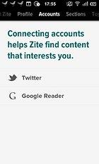 Zite - Personalisierte Nachrichten