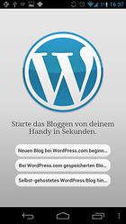 WordPress - aggiornare il blog camminando
