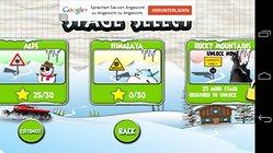 Stickman Ski Racer (Free). Deslízate por las colinas.
