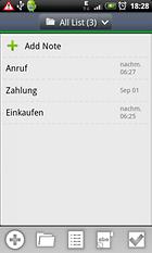 OnePunch Notes - Schon wieder was vergessen?
