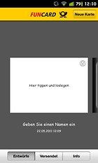Funcard – Postkarten per Android-Gerät verschicken