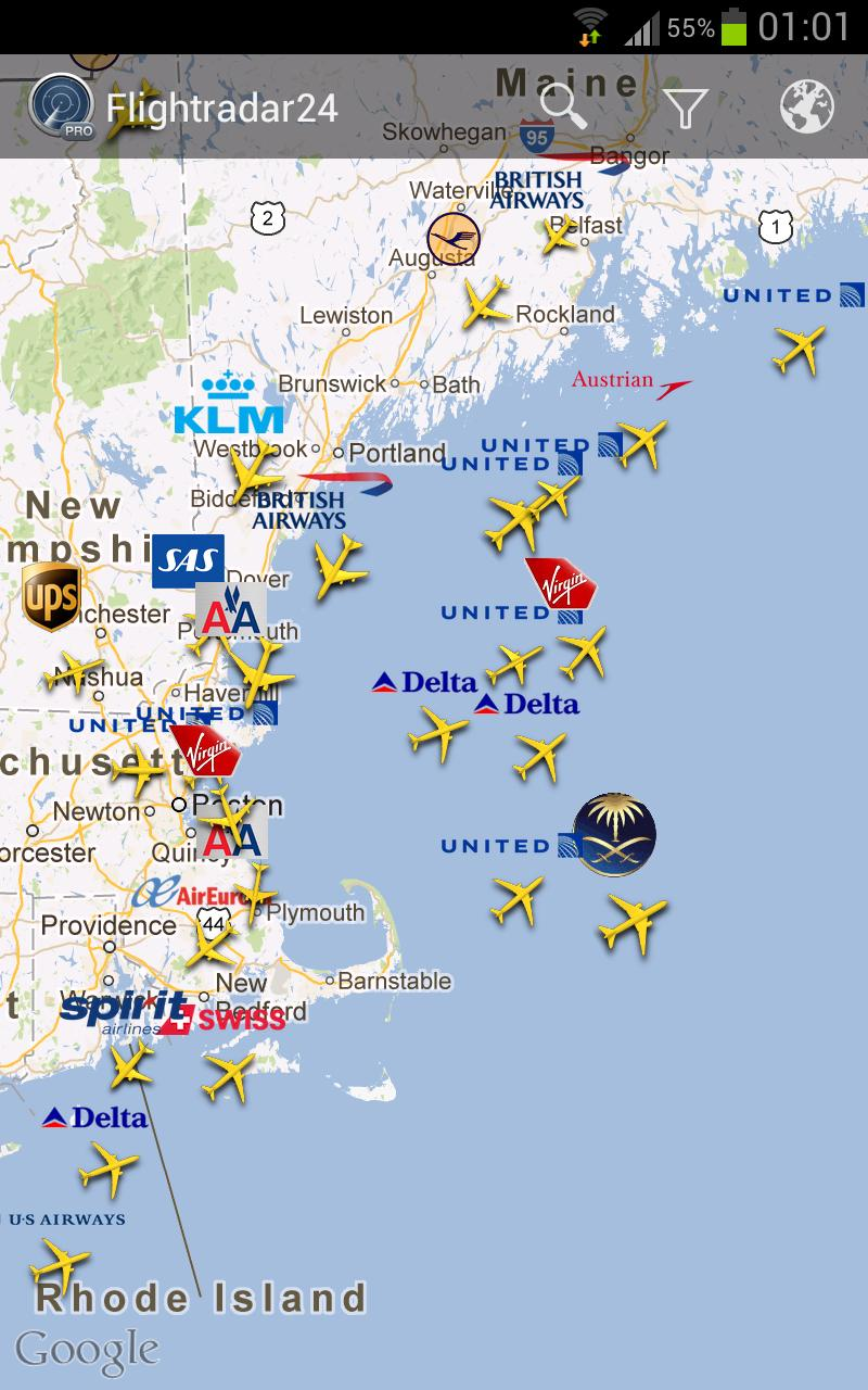 Flightradar24 Pro See Whats Happening Above You Right