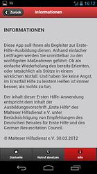 Erste-Hilfe-App der Malteser