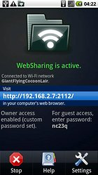 WebSharing File/Media Sync