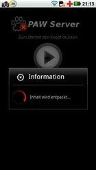Den Androiden mit PAW Server für Android vom PC verwalten