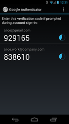 Google Authenticator -- More security for your Google accounts