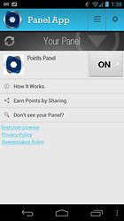 Panel App - Win prizes while on the go!