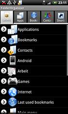 Folder Organizer - Remettre ses idées et celle de son smartphone en place