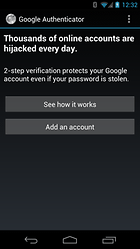 Google Authenticator – More security for your Google accounts