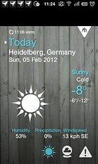 1Weather. ¡Mañana sol y buen tiempo!