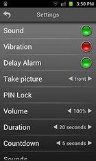 Sistema di allarme mobile - L'antifurto per il tuo smartphone