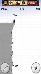 Stickman Cliff Diving (Free) - Bloß kein Bauchplatscher
