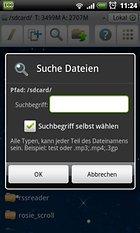 """ES Datei Explorer - """"Ich brause!"""""""