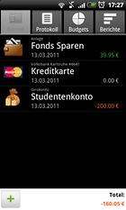 Financisto - Finanzverwaltung für Profis