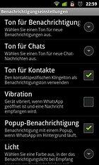 WhatsApp Messenger – Tout le temps connecté!