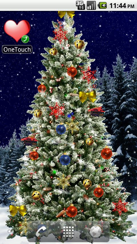 Christmas Tree Live Wallpaper Tis The Season To Be