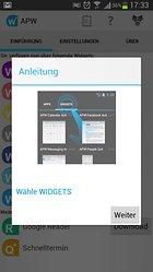 Android Pro Widgets - Einmal alles zum Mitnehmen bitte