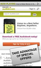 Audible for Android - The Best Solution for Lazy Readers