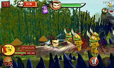 SAMURAI vs ZOMBIES DEFENSE : mélange improbable savoureux