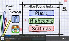 Doodle Snake -- A Classic, Doodle Style