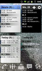 Pure Calendar widget (agenda) - all your appointments and tasks in one fell swoop