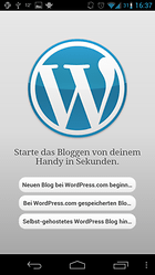 WordPress - Unterwegs Bloggen