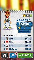 Subway Surfers -- A better Temple Run?
