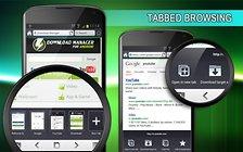 Download Manager for Android -  Gestionnaire de téléchargements