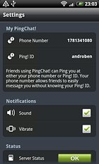 PingChat! Send messages for free