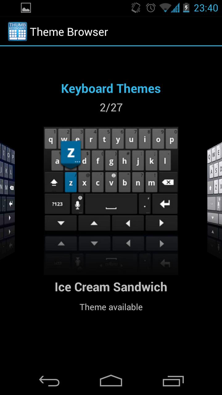 Thumb keyboard phonetablet the best keyboard available for thumb keyboard phonetablet the best keyboard available for tablets voltagebd Images