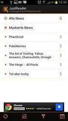 JustReader News - RSS - Noch ein Google Reader-Client