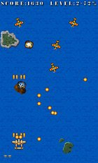 Pacific Wings - a ''shoot-em-up'' game miles above the ground