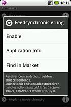 Autostarts (nur für Root User)