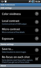 Hochkontrastbilder mit HDR Camera+