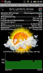 Wetter, Erdbeben, Barometer - So viel auf einmal?