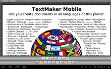 Office 2012: TextMaker Mobile