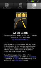 A1 SD Bench - Dahili / Harici tüm bellekleriniz kontrolünüz altında