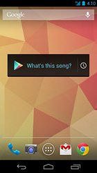 Sound Search for Google Play - un widget à l'oreille musicale !