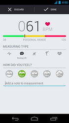 Runtastic Heart Rate - Ein nettes Gimmick