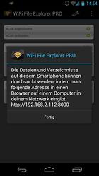 WiFi Datei-Explorer PRO - Endlich Kabellos!