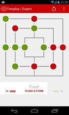 Doublemill 2 Nine men's morris - Le jeu du moulin emprunte le design Holo