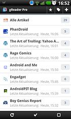 gReader Pro (Google Reader) - Besser als die normale Reader-App?