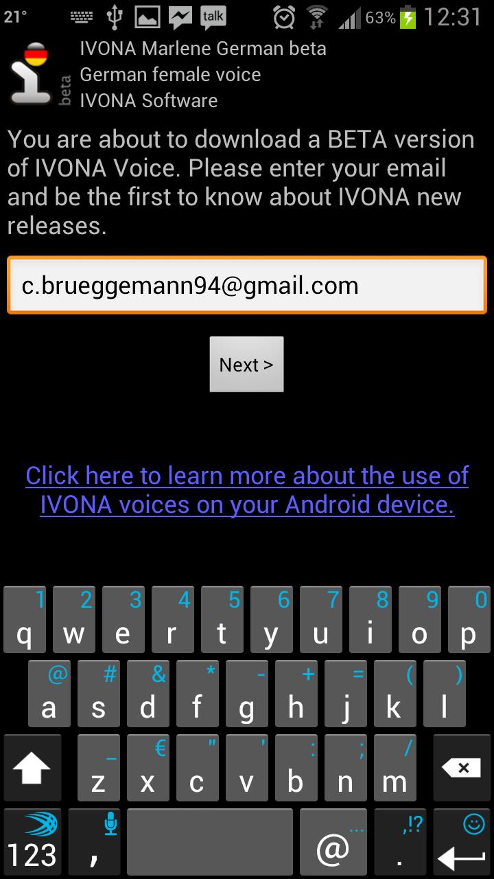 IVONA Text-to-Speech HQ - Die menschlichere Stimme | AndroidPIT
