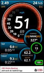 Ulysse Speedometer. Cuentakilómetros.