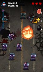 O esmagado de zumbi Zombie