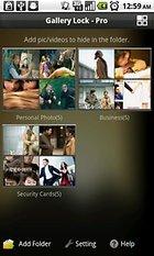 Gallery Lock Pro (français) - pour protéger votre vie privée